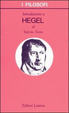 Introduzione a Hegel - Valerio Verra - copertina