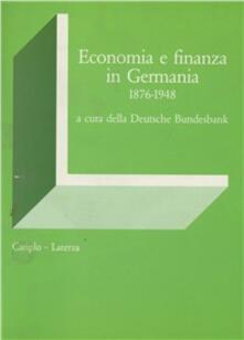 Cocktaillab.it Economia e finanza in Germania (1876-1948) Image