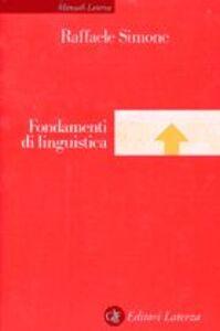 Fondamenti di linguistica