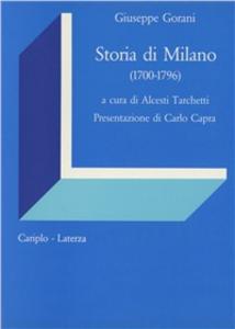 Libro Storia di Milano (1700-1796) Giuseppe Gorani