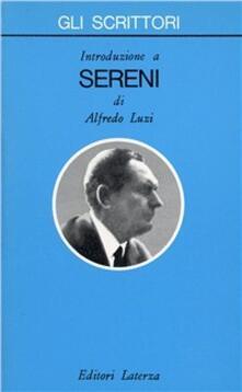 Aboutschuster.de Introduzione a Vittorio Sereni Image