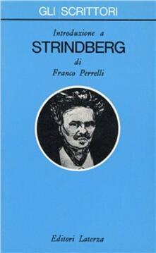 Introduzione a Strindberg - Franco Perrelli - copertina