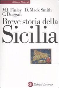 Foto Cover di Breve storia della Sicilia, Libro di AA.VV edito da Laterza