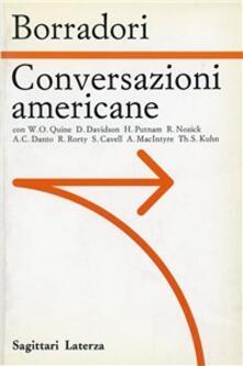 Conversazioni americane - Giovanna Borradori - copertina