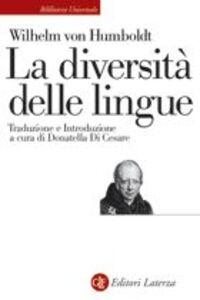 La diversità delle lingue