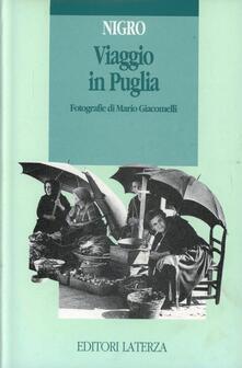 Viaggio in Puglia - Raffaele Nigro - copertina