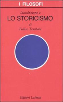 Squillogame.it Introduzione a «Lo storicismo» Image