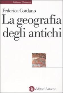 Camfeed.it La geografia degli antichi Image