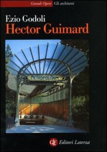 Hector Guimard - Ezio Godoli - copertina