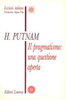 Squillogame.it Il pragmatismo: una questione aperta Image