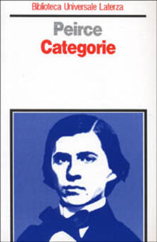 Categorie - Charles S. Peirce - copertina
