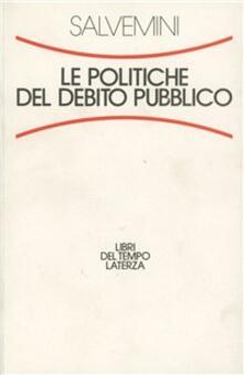 Recuperandoiltempo.it Le politiche del debito pubblico Image
