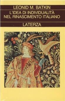 Antondemarirreguera.es L' idea di individualità nel Rinascimento italiano Image