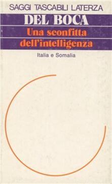 Camfeed.it Una sconfitta dell'intelligenza. Italia e Somalia Image