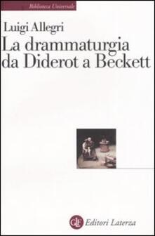 Camfeed.it La drammaturgia da Diderot a Beckett Image