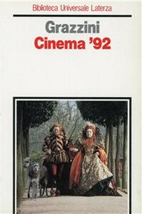 Libro Cinema '92 Giovanni Grazzini