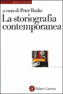 La storiografia contemporanea - copertina