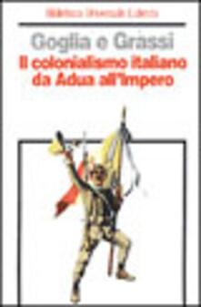 Daddyswing.es Il colonialismo italiano da Adua all'impero Image