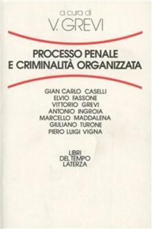 Processo penale e criminalità organizzata - copertina