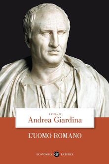L' uomo romano - copertina