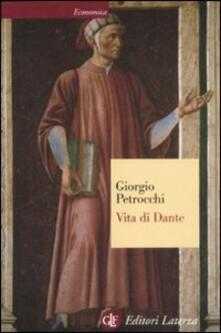 Vita di Dante - Giorgio Petrocchi - copertina