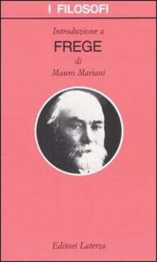 Introduzione a Frege - Mauro Mariani - copertina