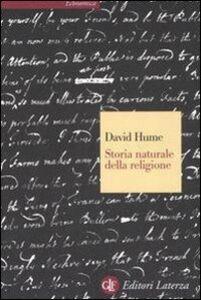 Foto Cover di Storia naturale della religione, Libro di David Hume, edito da Laterza