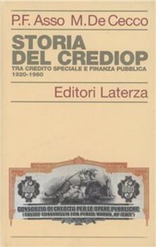 Criticalwinenotav.it Storia del Crediop. Tra credito speciale e finanza pubblica (1920-1960) Image