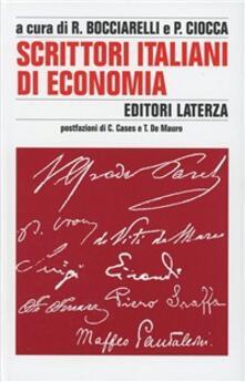 Antondemarirreguera.es Scrittori italiani di economia Image