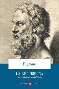 Foto Cover di La Repubblica, Libro di Platone, edito da Laterza