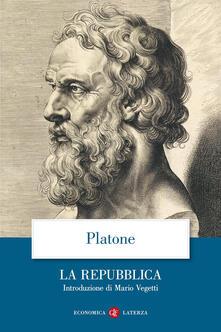 La Repubblica - Platone - copertina