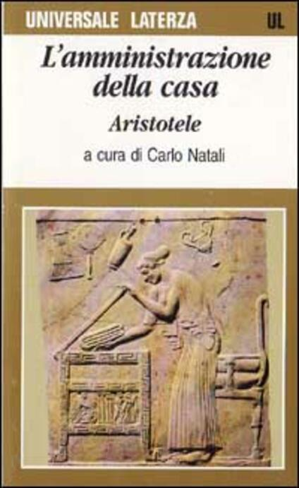 L' amministrazione della casa - Aristotele - copertina