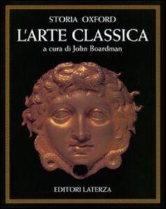 Libro Storia Oxford dell'arte classica