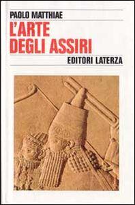 L' arte degli assiri