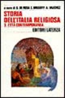 Grandtoureventi.it Storia dell'Italia religiosa. Vol. 3: L'Età contemporanea. Image