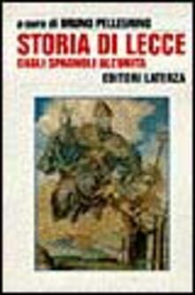 Voluntariadobaleares2014.es Storia di Lecce. Vol. 2: Dagli spagnoli all'Unità. Image