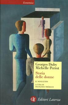 Storia delle donne in Occidente. Vol. 5: Il Novecento. - Georges Duby,Michelle Perrot - copertina