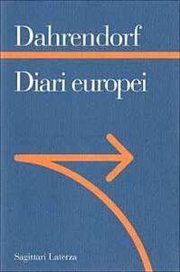 Libro Diari europei Ralf Dahrendorf