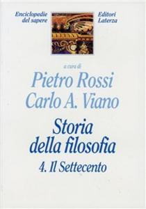 Libro Storia della filosofia. Vol. 4: Il Settecento.