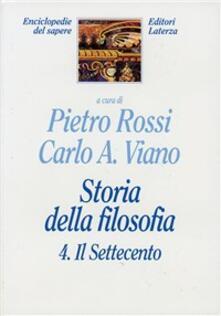 Capturtokyoedition.it Storia della filosofia. Vol. 4: Il Settecento. Image