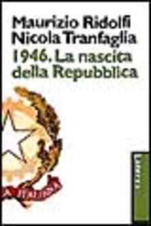 Antondemarirreguera.es 1946. La nascita della Repubblica Image