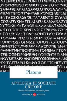 Antondemarirreguera.es Apologia di Socrate Critone. Testo greco a fronte Image