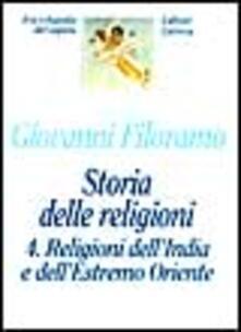 Tegliowinterrun.it Storia delle religioni. Vol. 4: Religioni dell'india e dell'estremo Oriente. Image
