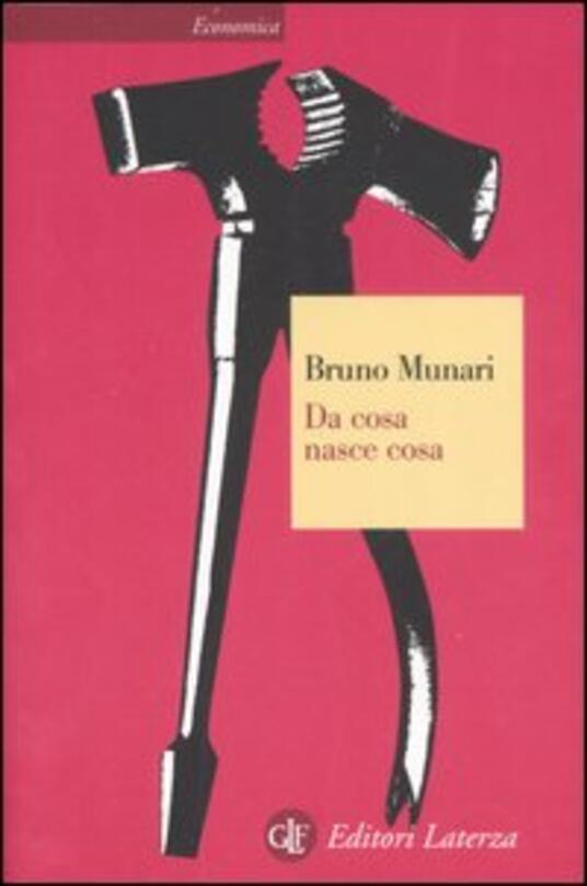 Da cosa nasce cosa. Appunti per una metodologia progettuale - Bruno Munari - copertina