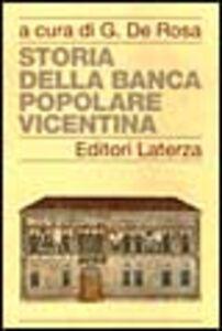 Libro Storia della Banca Popolare Vicentina