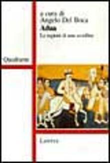Librisulladiversita.it Adua. Le ragioni di una sconfitta Image