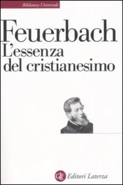 L' essenza del cristianesimo - Ludwig Feuerbach - copertina