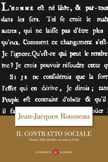 Winniearcher.com Il contratto sociale. Testo francese a fronte Image