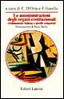 Winniearcher.com Le amministrazioni degli organi costituzionali. Ordinamento italiano e profili comparati Image