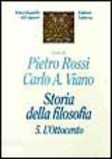 Storia della filosofia. Vol. 5: Lottocento..pdf